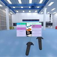 Headgear and Handsets for Virtual Reality Application
