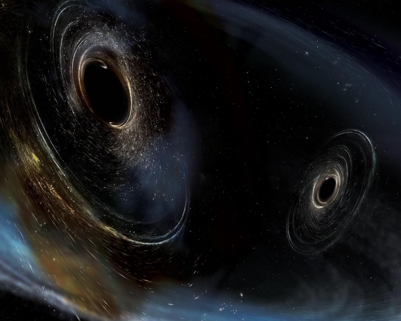 Dancing Duo of Black Hole