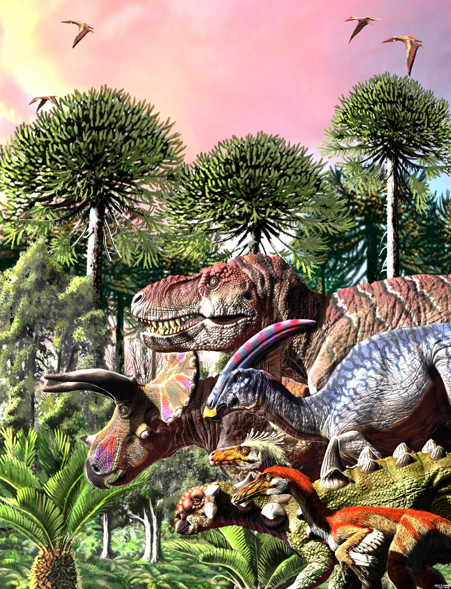 The Last March of Dinosaurs