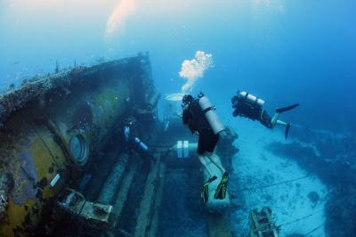 Diving at Aquarius