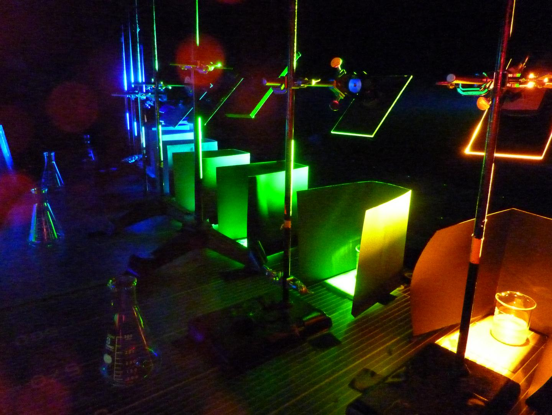 Light-Testing Bacteria