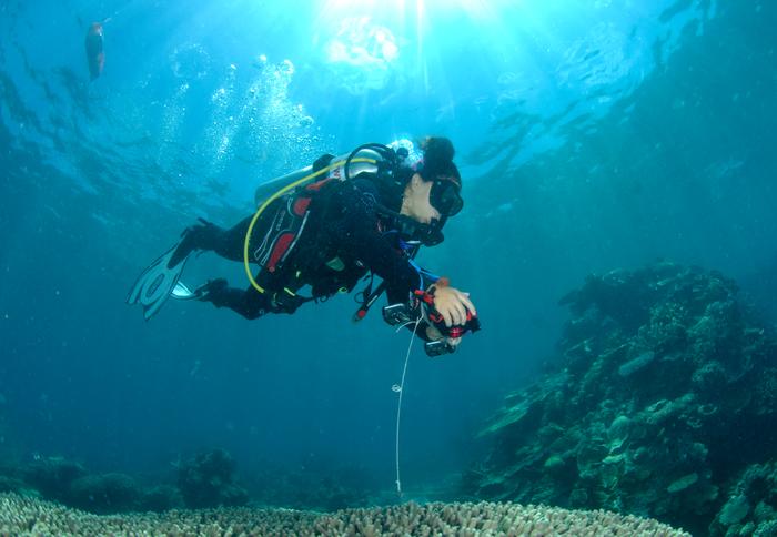 Underwater Data Collection