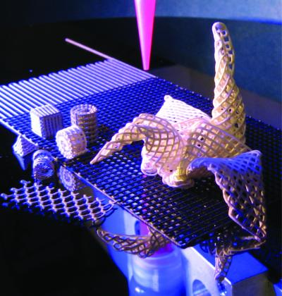 Printed Origami Structures