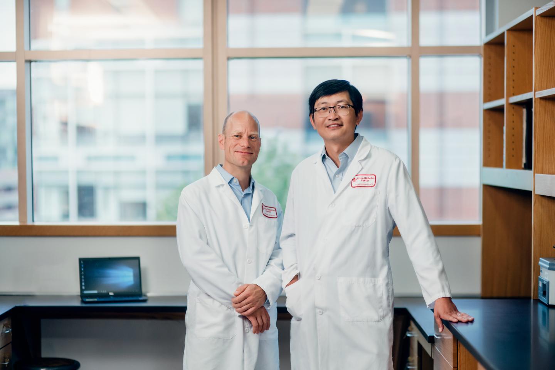 Stephan Kissler and Peng Yi, Joslin Diabetes Center
