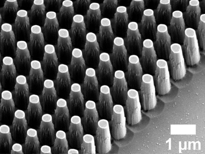 Metalens Nanopillers