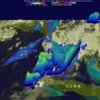 GPM View of Rainfall Over Florida