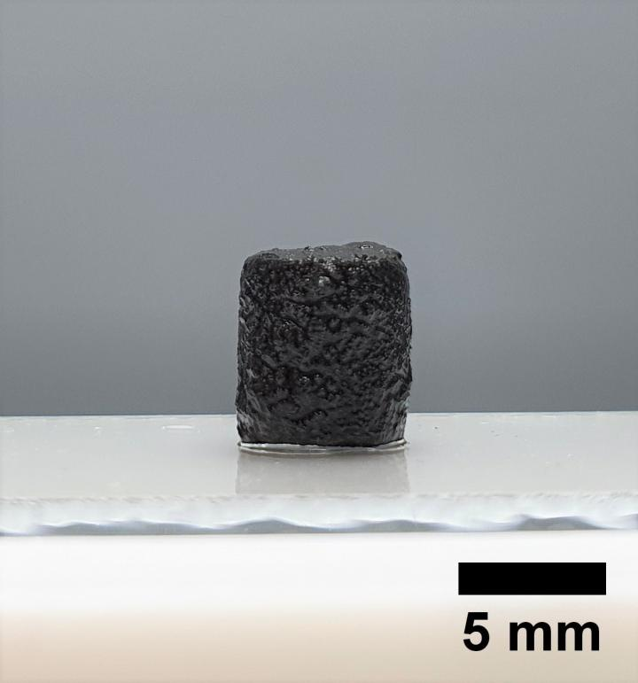 The electrically conductive hydrogel