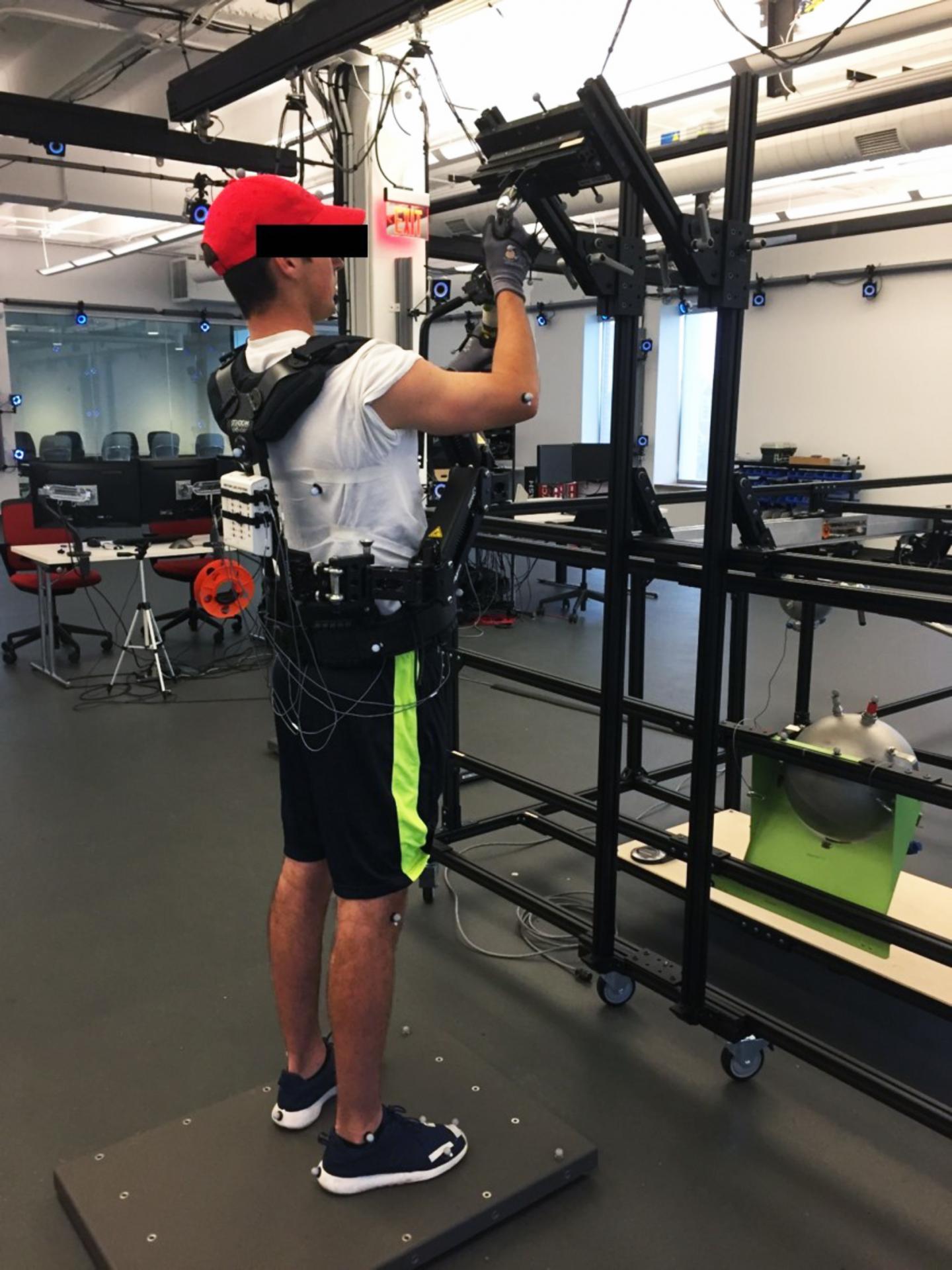 Exoskeleton for Hand Tool