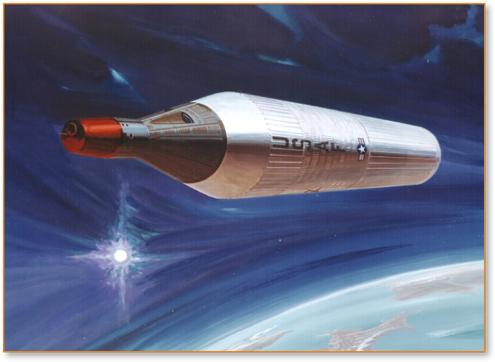 Artist's Depiction of Proposed Manned Orbiting Laboratory