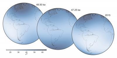 The Strength of the Geomagnetic Field at Earth's Surface