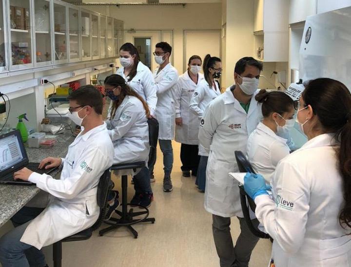 Brazilian researchers Zika virus