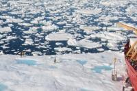 Scientists on Sea Ice