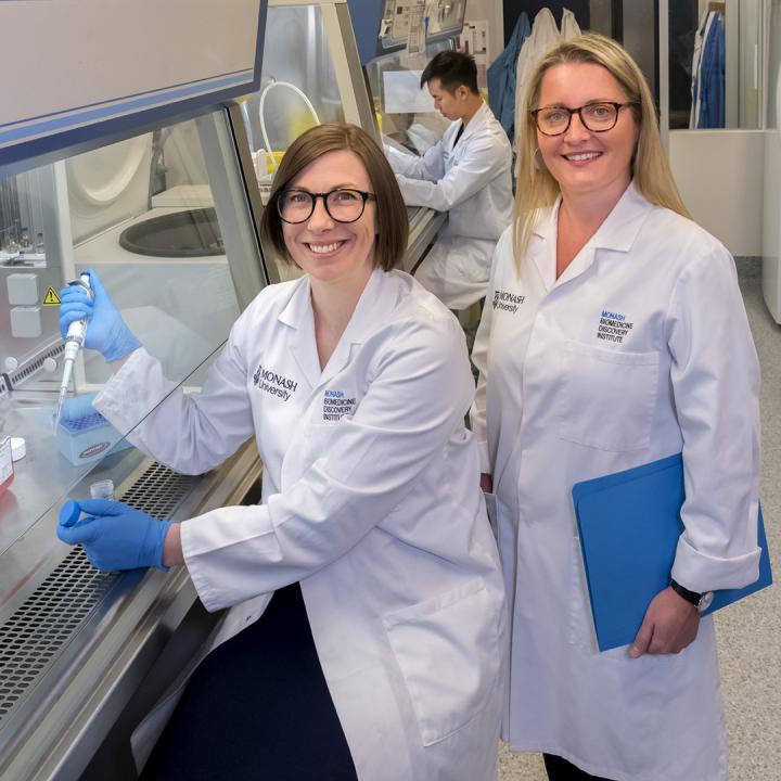 Professor Nicole La Gruta and Dr Kylie Quinn, Monash University