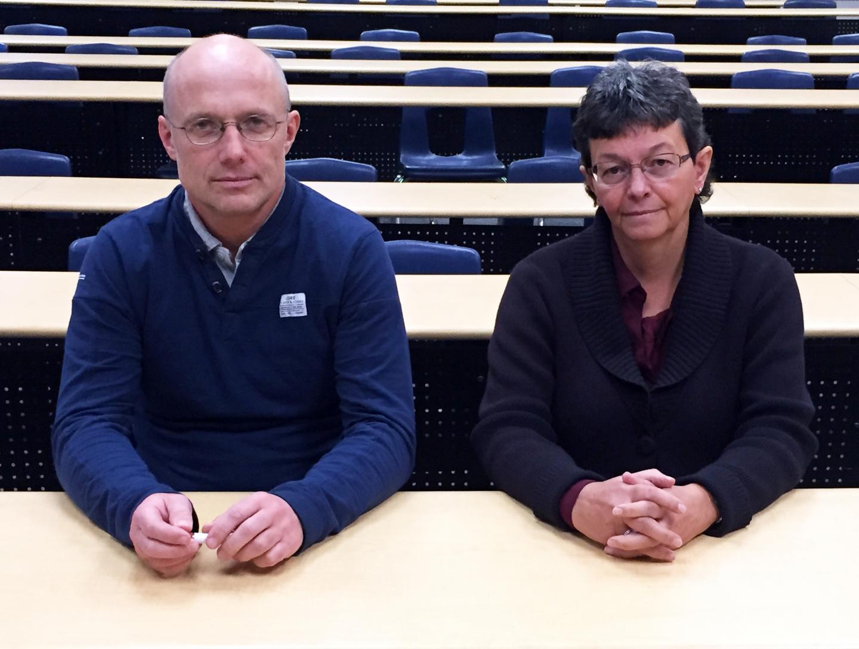 UBC's Andis Klegeris and Heather Hurren