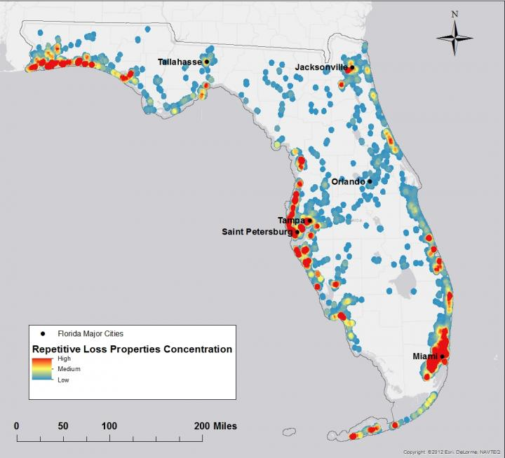 Florida RLPs Heat Map