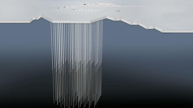 Animation: Neutrino IC170922 in IceCube