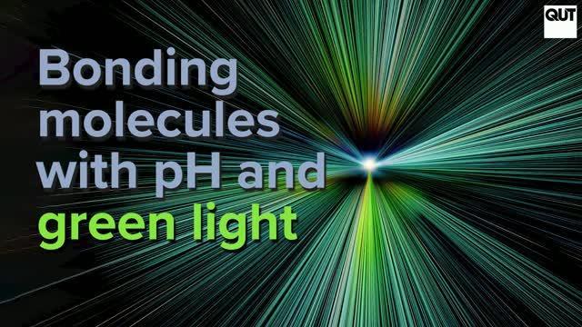 Forging Molecular Bonds with Green Light