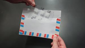 Sperm sheets in envelope