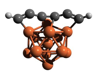 Fe13 Iron-pseudocarbyne