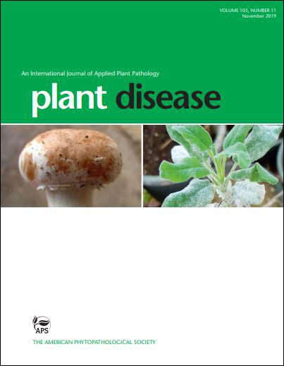 Plant Disease November Issue Cover