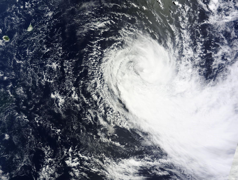 NASA's Terra Satellite Sees Tropical Cyclone Glenda Stretching Out