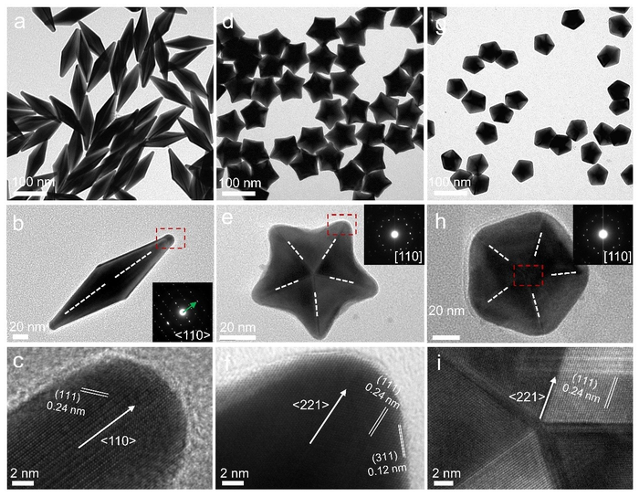 Researchers Achieve Universal Route to Family of Penta-twinned Gold Nanocrystals