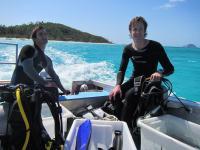 Studying Coral Reef Fish Behavior in Australia