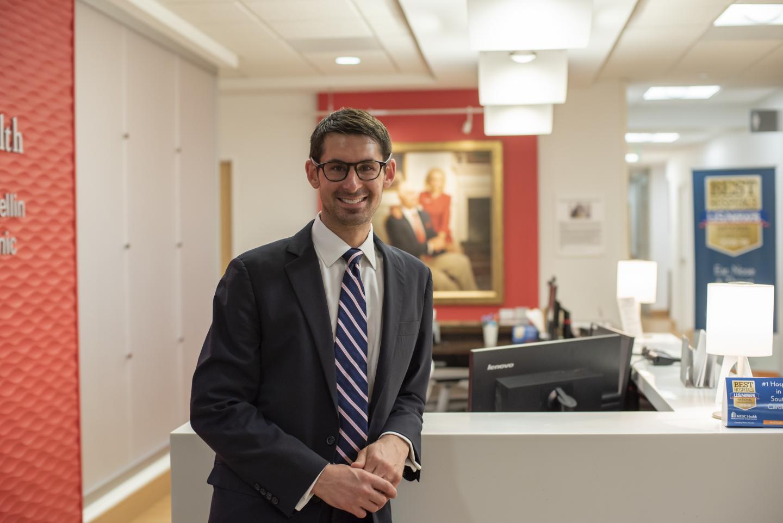 Dr. Evan M. Graboyes at the Medical University of South Carolina