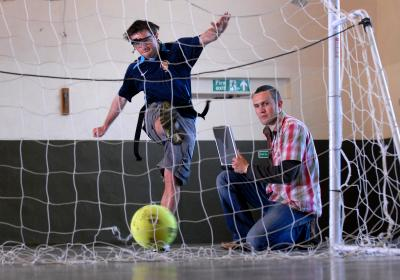 Testing Eye Movement in Penalty Shoot Outs