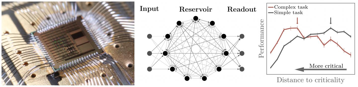 Criticality on a Neuromorphic Chip