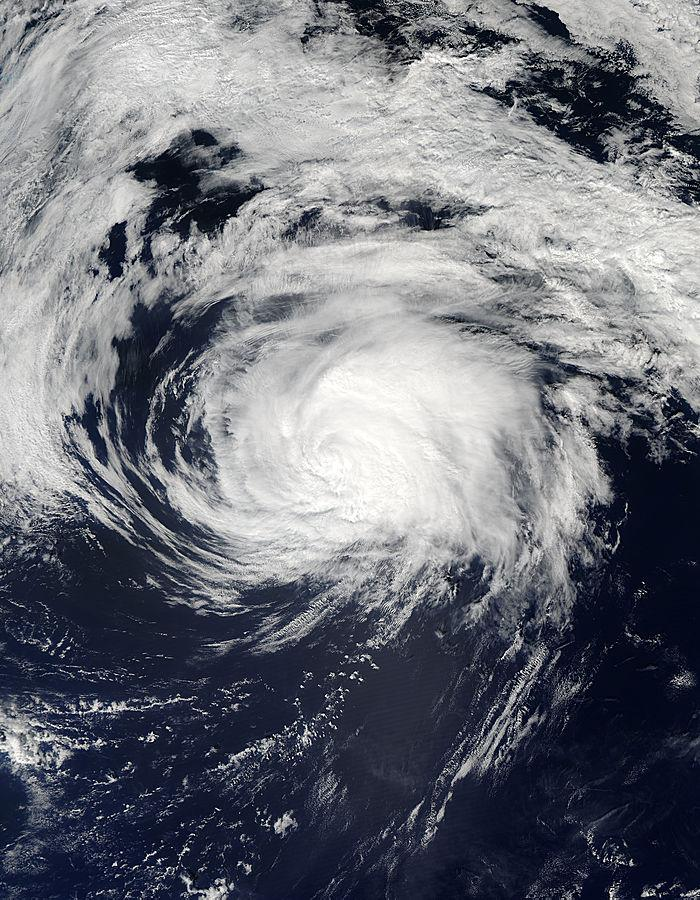 Tropical Storm Edouard on Sept. 18