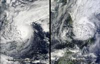 Time Series MODIS Image of Hagupit