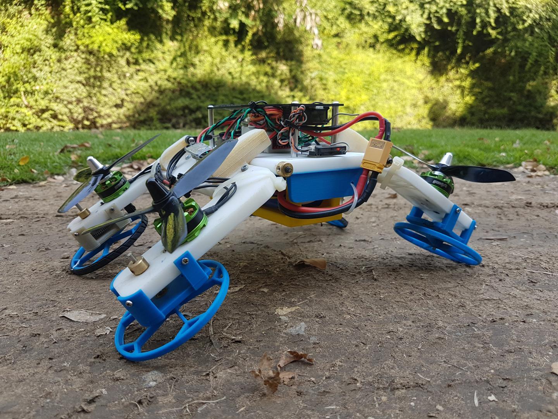 New Flying/Driving Robot Developed at Ben-Gurion University