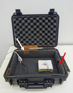 Bat hearing sensitivity equipment