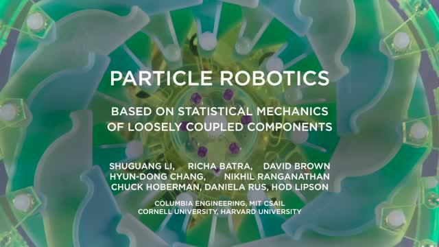 Video Overview of Particle Robotics