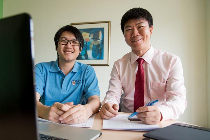 Asst Prof Yu Rongjun and Dr Narun Pornpattananangkul, National University of Singapore