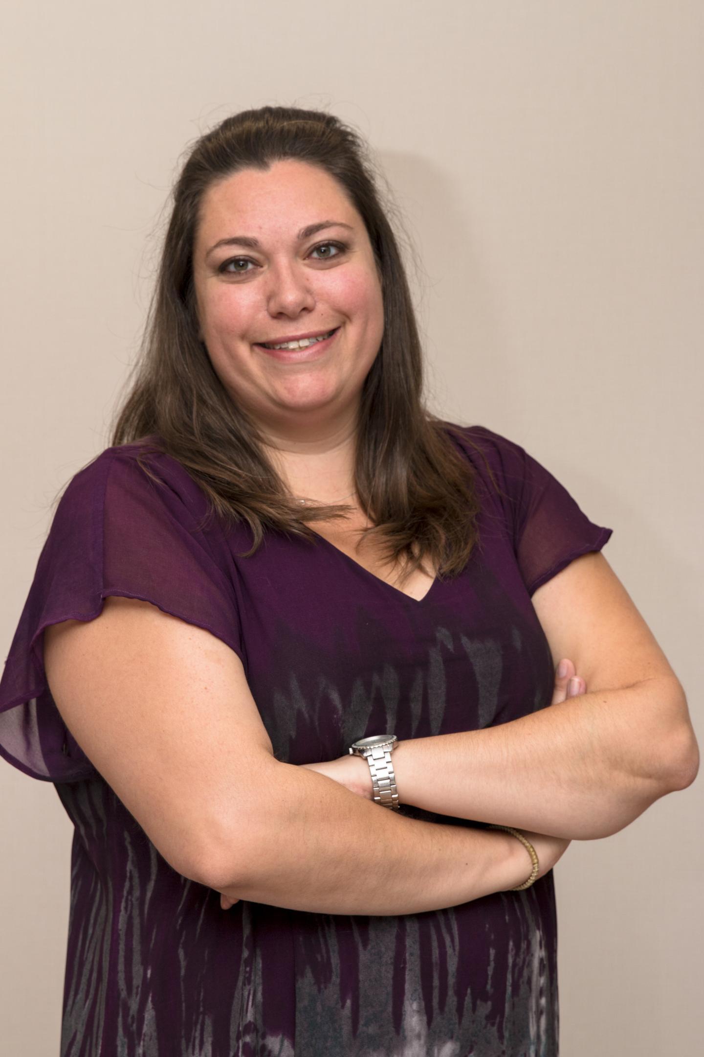 Erica Weber, Kessler Foundation