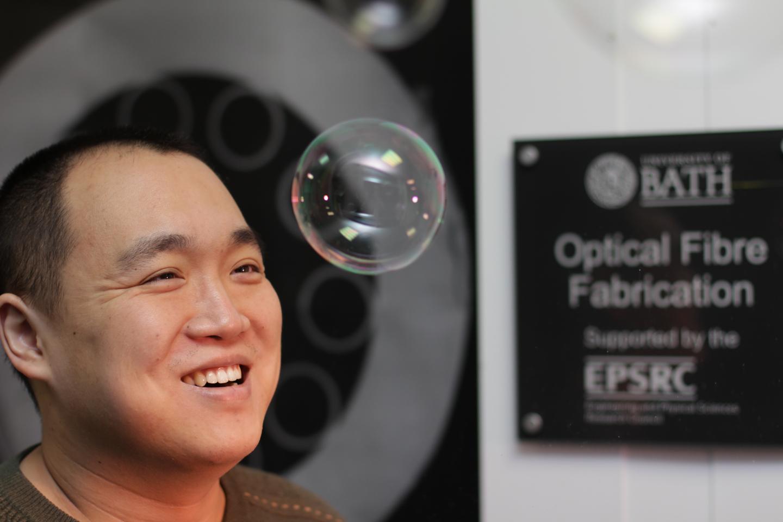 New Hollow-Core Optical Fiber