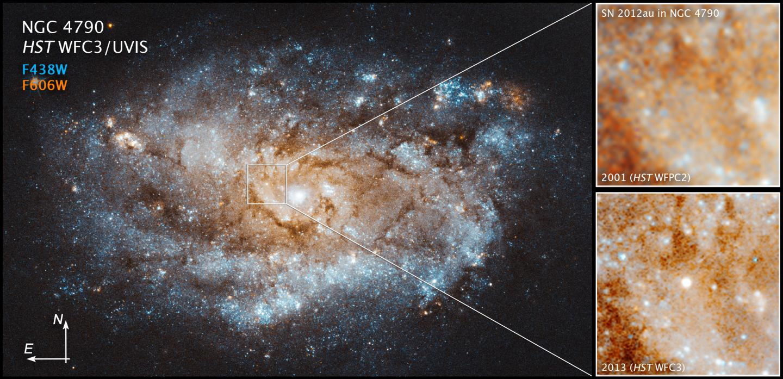 Supernova SN 2012au