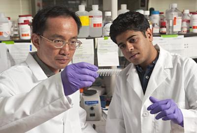 Jeff Wang and Vasudev Bailey, Johns Hopkins University