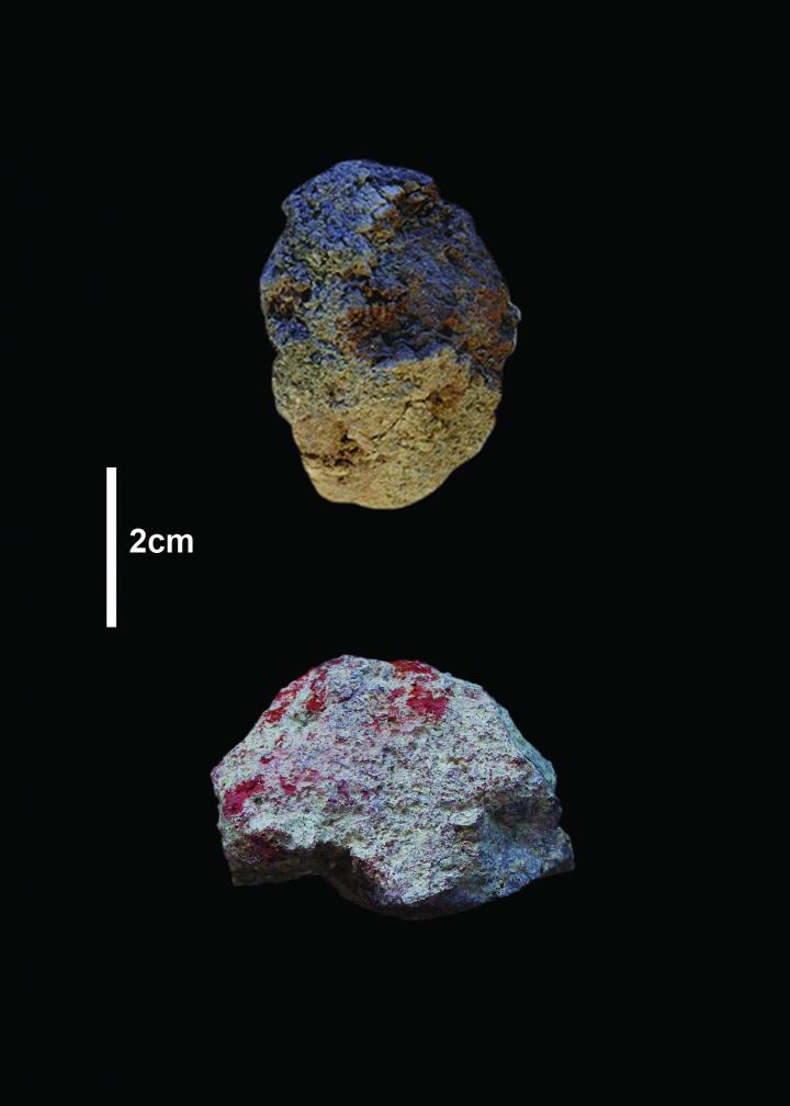 Pigments from the Olorgesailie Basin