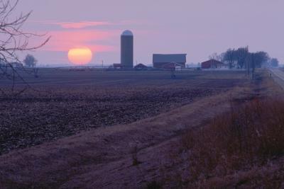 Farm in central Illinois