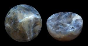 Sphere and half-sphere