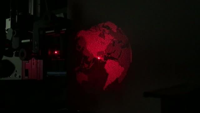 Metasurface holographic movie