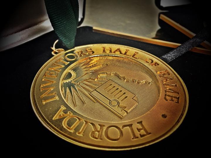 Florida Inventors Hall of Fame medal