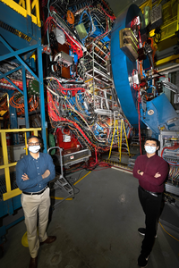 scientists at STAR detector