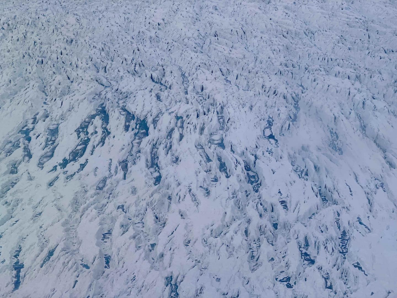 Melt Ponds on Glacier in Central-West Greenland