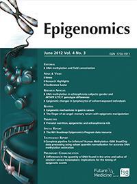 <i>Epigenomics</i>