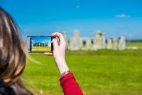 Taking a Photo of Stonehenge