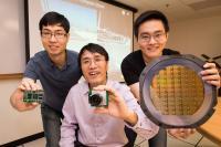 Assistant Professor Chen Shoushun, Li Wanlong and Yang Wenlei, Nanyang Technological University